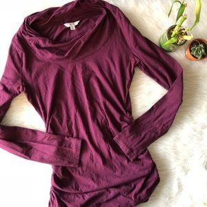 Cabi Purple Long Sleeve Top